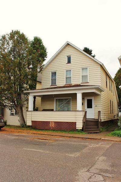 Ishpeming Multi Family Home For Sale: 404 S Third