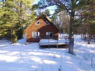 Munising Single Family Home For Sale: N2790 Sleeping Bear Dr