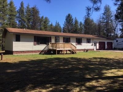 Negaunee Single Family Home For Sale: 96 E Wilderness Rd
