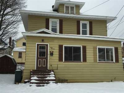 Negaunee Single Family Home For Sale: 313 Rock St