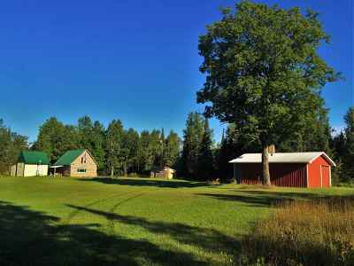 Marquette County Single Family Home Pending w/Contingency: Ross Grade Rd #Lat 46.1