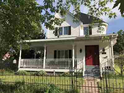 Negaunee Single Family Home Pending w/Contingency: 115 E Clark