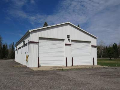 Michigamme Commercial For Sale: 106 Brown (At Us-41) #Lat 46.5
