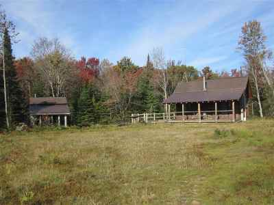 Munising Single Family Home For Sale: N2003 Sturgeon River Rd