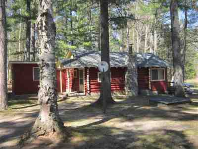 Munising Single Family Home For Sale: N3798 S Lost Lake Rd