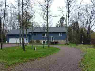 Ishpeming Single Family Home For Sale: 25855 Co Rd 581
