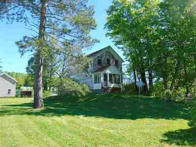 Michigamme Single Family Home For Sale: 203 E Main St