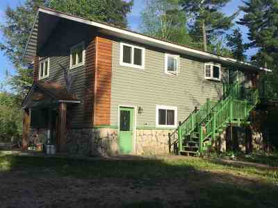 Munising Single Family Home For Sale: N6498 Perch Lake Rd