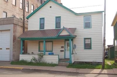 Ishpeming Multi Family Home Pending w/Contingency: 117 S Second
