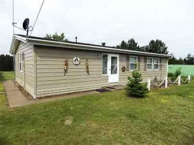 Gwinn Single Family Home For Sale: 144 Provider