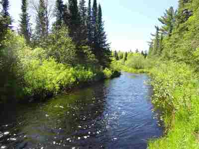 Michigamme Residential Lots & Land Pending w/Contingency: 37 Acres Peshekee River