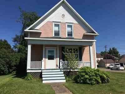 Negaunee Single Family Home Pending w/Contingency: 1004 Baldwin