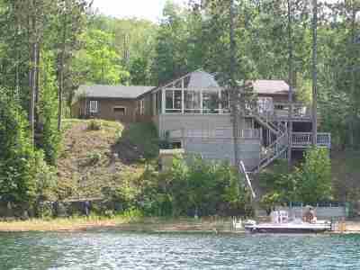 Gwinn Single Family Home Price Change: 1238 W Little Shag Lake Rd