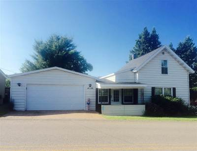 Ishpeming Single Family Home For Sale: 168 Saginaw