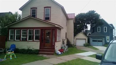 Ishpeming Single Family Home For Sale: 211 W Euclid