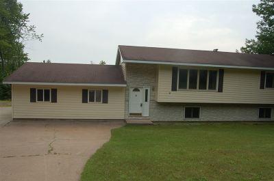 Gwinn Single Family Home For Sale: 628 N Maple Hills