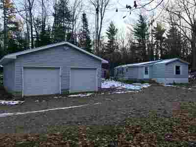 Negaunee Single Family Home For Sale: 22 White Birch