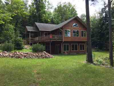 Gwinn Single Family Home For Sale: 1384 Little Shag Lake Rd