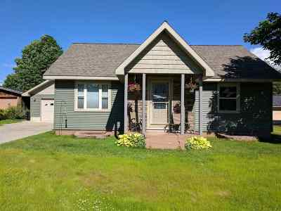 Ishpeming Single Family Home Pending w/Contingency: 110 N Daisy
