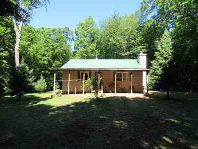 Munising Single Family Home For Sale: 6636 E Doe Lake