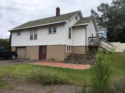 Negaunee Single Family Home Pending w/Contingency: 331 W Peck St