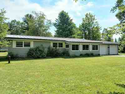 Gwinn Single Family Home Price Change: 170 Yelle