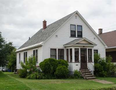 Ishpeming Single Family Home Pending w/Contingency: 893 N Main