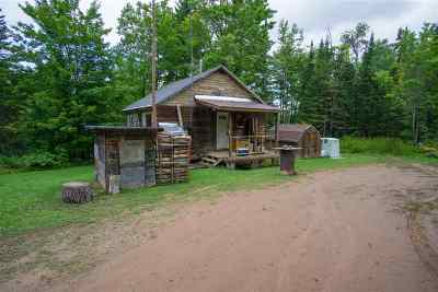 Marquette County Single Family Home For Sale: 50.77 Acres Co Rd Aah