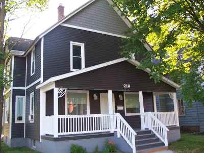 Negaunee Single Family Home For Sale: 216 Teal Lake Ave
