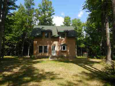 Ishpeming Single Family Home For Sale: Co Rd Cch