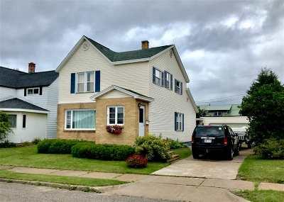 Ishpeming Single Family Home For Sale: 814 N Maple