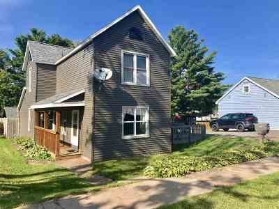 Ishpeming Single Family Home Pending w/Contingency: 739 Wabash St