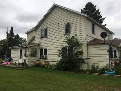 Gwinn Single Family Home For Sale: 222 N Ash