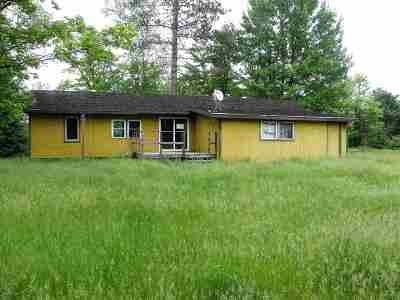 Negaunee Single Family Home For Sale: 25 Co Rd Mwg