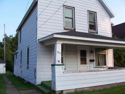 Negaunee Single Family Home Pending w/Contingency: 400 Cherry