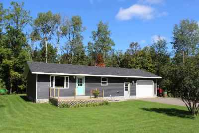 Ishpeming Single Family Home For Sale: 930 Co Rd Ppr