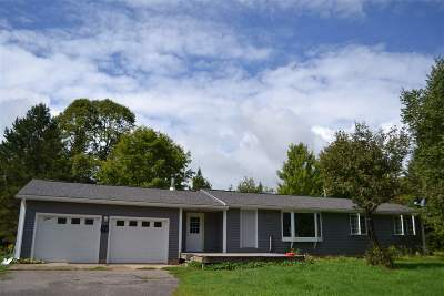 Alger County Single Family Home Pending w/Contingency: N4719 M67