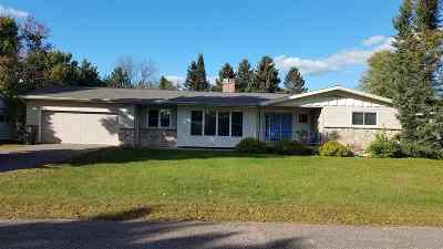 Gwinn Single Family Home For Sale: 468 W Adams S St