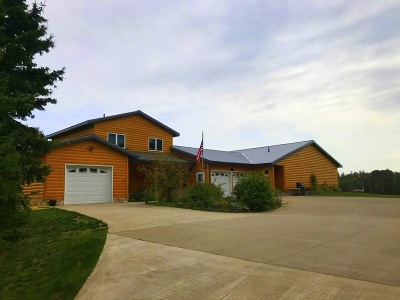 Gwinn Single Family Home For Sale: 435 N Noren Lake Dr