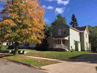 Negaunee Single Family Home For Sale: 122 E Lincoln St