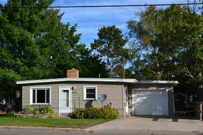 Marquette Single Family Home Pending w/Contingency: 1208 W Fair