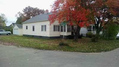 Gwinn Single Family Home For Sale: 198 N Maple St