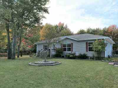 Marquette Single Family Home For Sale: 360 S Big Creek Rd