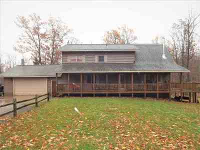 Negaunee Single Family Home Pending w/Contingency: 109 Acorn