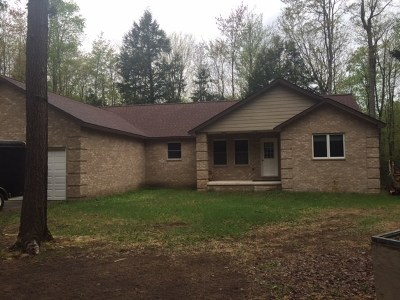 Munising Single Family Home For Sale: E6836 Wildwood Rd
