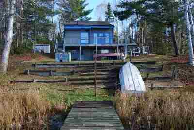 Alger County Single Family Home For Sale: N1733 E Baldy Lake Rd #Lat/Lon: