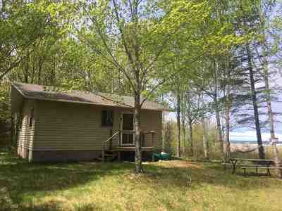 Alger County Single Family Home For Sale: N9980 Mallette Point Tr