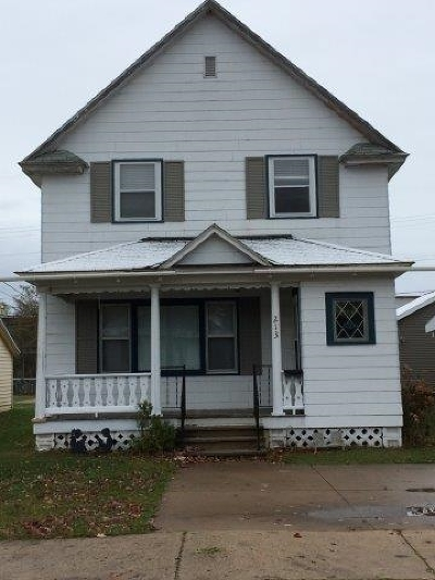Munising Single Family Home New: 213 E Onota St
