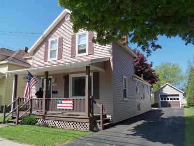 Marquette Single Family Home Pending w/Contingency: 2229 Presque Isle Ave
