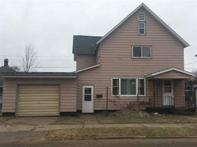 Negaunee Single Family Home For Sale: 511 Cherry St